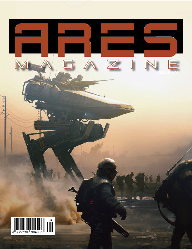 3 Issue Subsription to Ares Magazine (International)