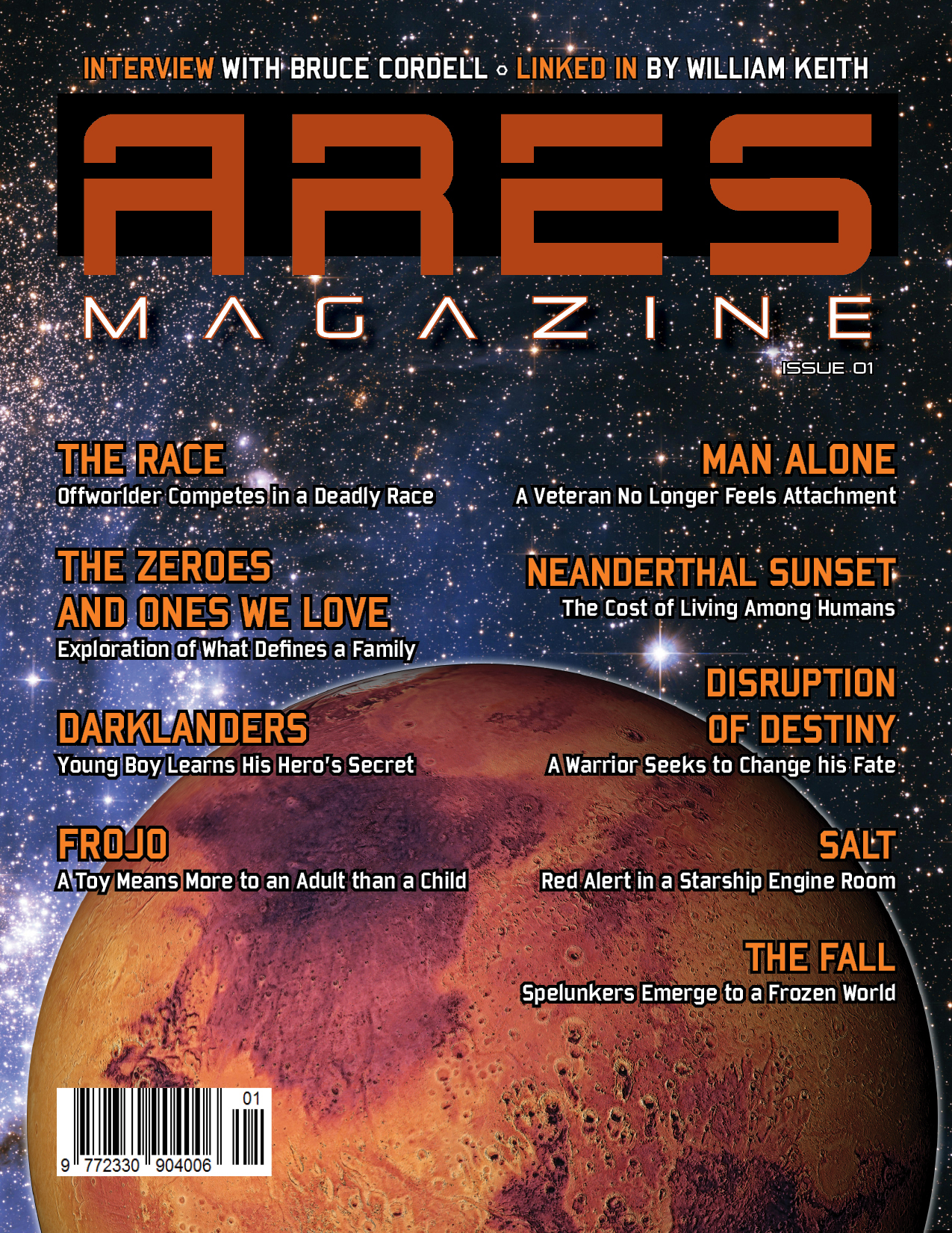 Ares Issue 1 (magazine only) - Click Image to Close