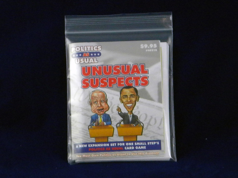 Politics as Usual 2: Unusual Suspects